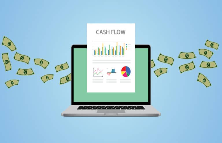 Illustration demonstrating cashflow